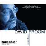 David Froom: Song and Dance CD